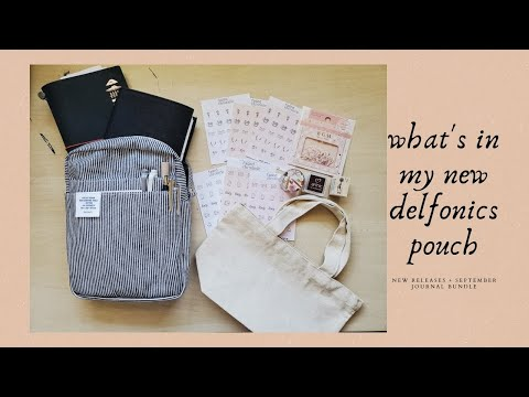 What's In My New Delfonics Pouch + Sept New Releases!