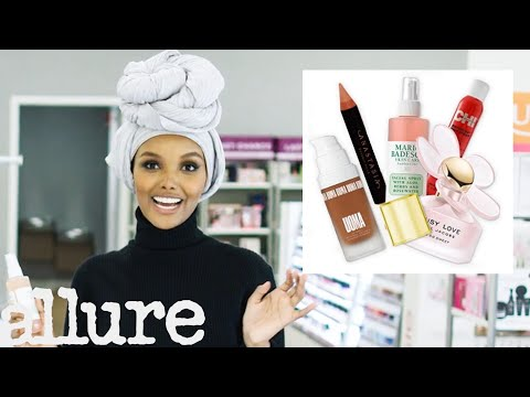 Model Halima Aden Shops for Her Favorite Beauty Products | From Head To Toe | Allure