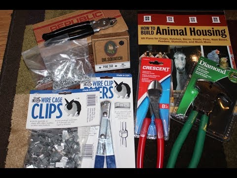 Building Animal Housing ~~The HOMESTEAD BOX