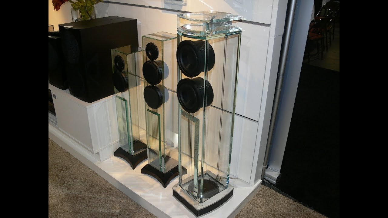 Waterfall Audio Niagara Diamond Glass Floor Standing