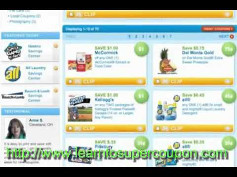 Saving Money with Grocery Coupons to Print