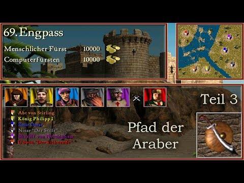 M69 - Engpass - Teil 3  - Araber - Stronghold Crusader | Let's Play (German)