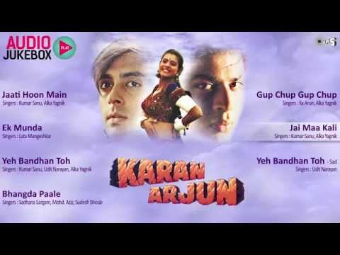 Karan Arjun 1995 jukebox