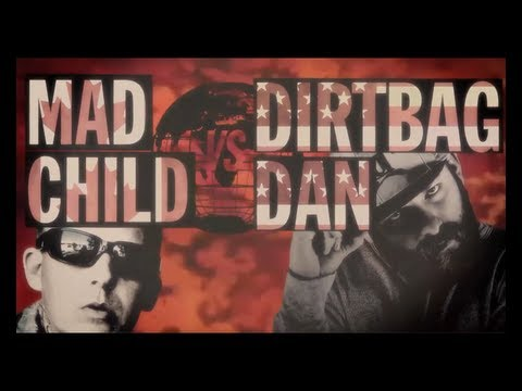 KOTD - Rap Battle - Dirtbag Dan vs MadChild (Swollen Members)  | #WD2