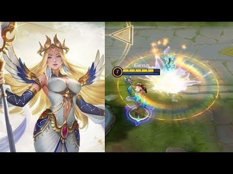 Kadita Elite Skin White Robin Gameplay (Skill Effect Only) - Mobile Legends