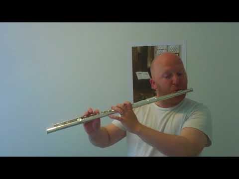 Marcel Moyse - no.3 from 24 Little Melodic Studies for flute - Roderick Seed
