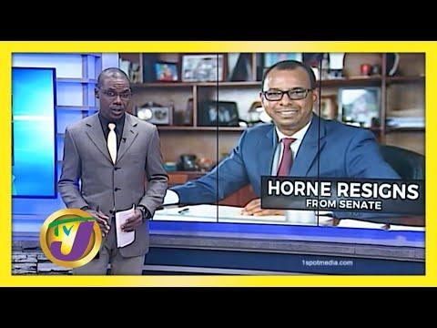 Horne Resigns from Senate   TVJ News