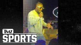 Le'Veon Bell Reps NY Jets During Nightclub Rap Performance   TMZ Sports