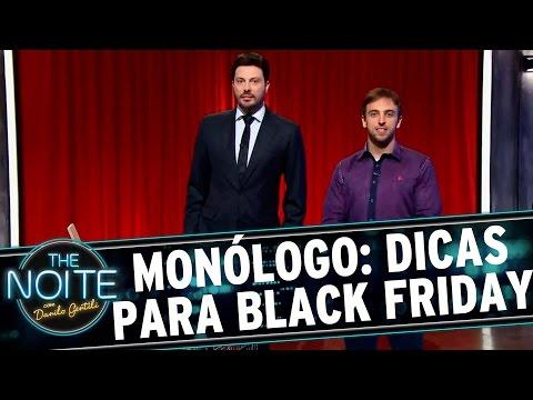 The Noite (27/11/15) - Monólogo: 5 Dicas De Léo Lins Para Aproveitar A Black Friday