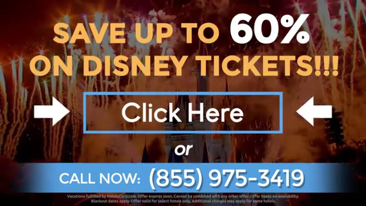 disney world tickets discount