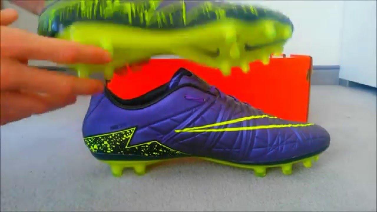meet 95b0f f3d8b Nike Hypervenom Phinish FG Electro Flare Unboxing!