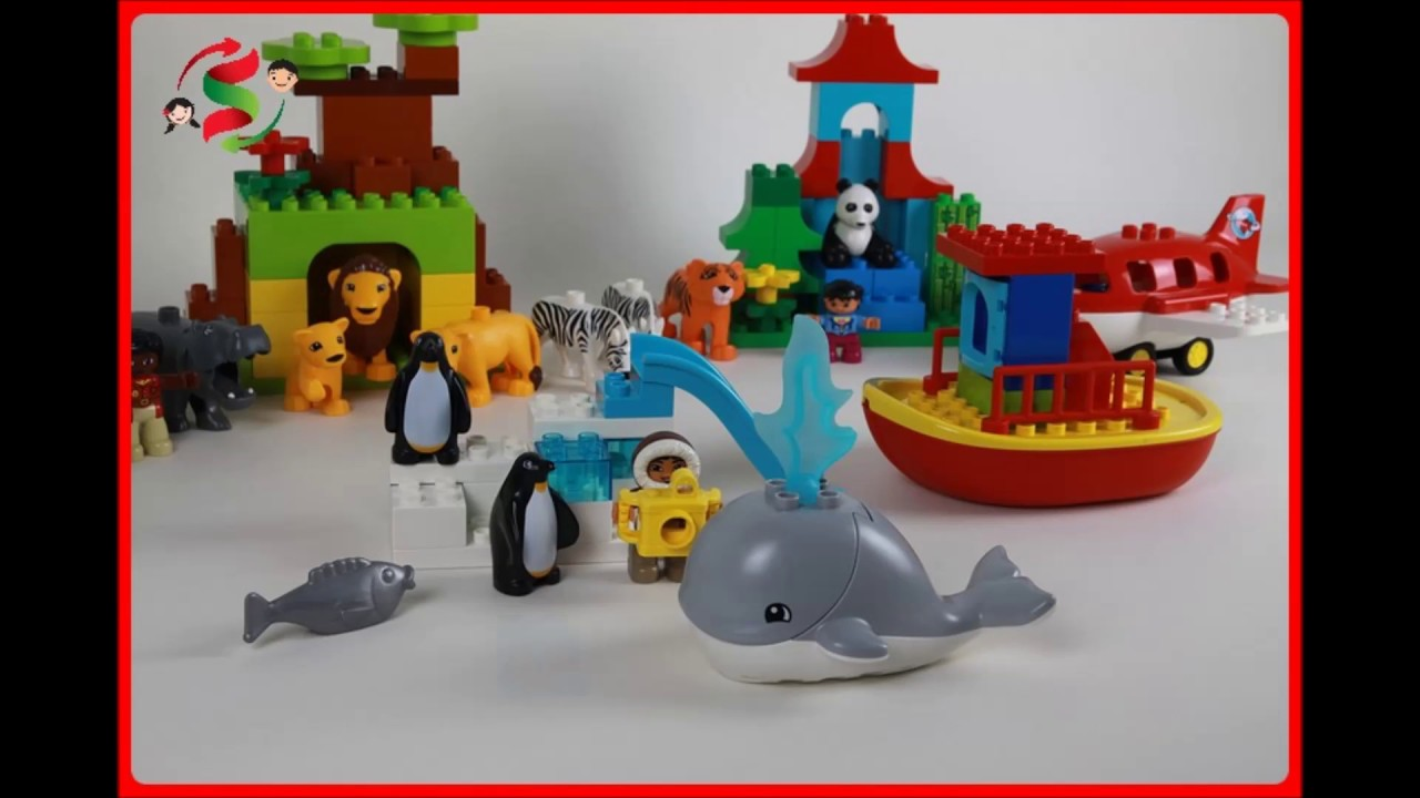 Lego Duplo Around The World 10805 Youtube