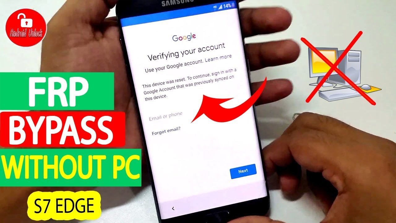 (New) Bypass Google Account Samsung S7 Edge | Without Pc | Without Wifi  #AndroidUnlock