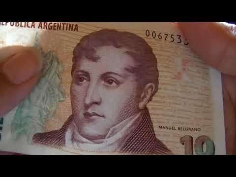 ASMR Billetes Argentinos