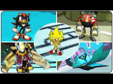 Sonic Chronicles The Dark Brotherhood - All Bosses
