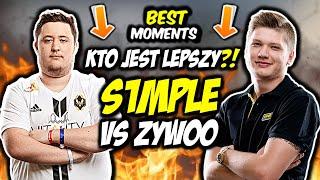 S1MPLE VS ZYWOO!!! KTO JEST LEPSZY?!?! S1MPLE CLUTCH 1vs3, ZywOo AWP GOD - CSGO BEST MOMENTS