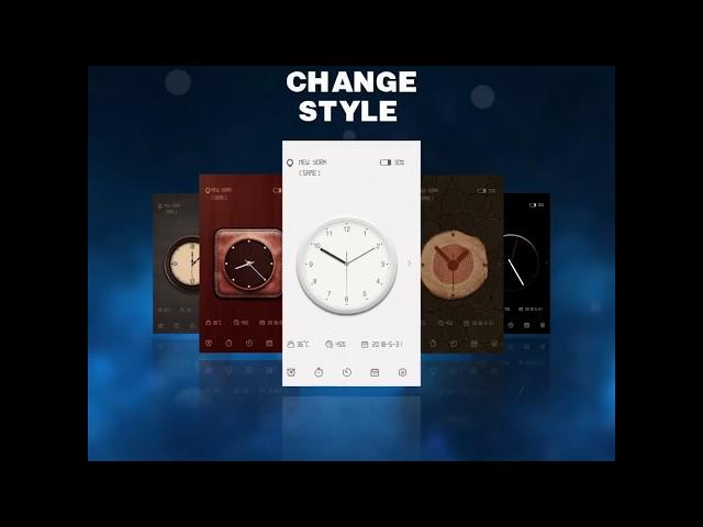 एंड्रॉयड के लिए Digital Clock Widget - Analog
