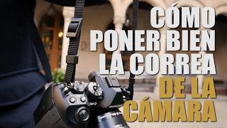 Aprende a poner bien la correa de tu cámara