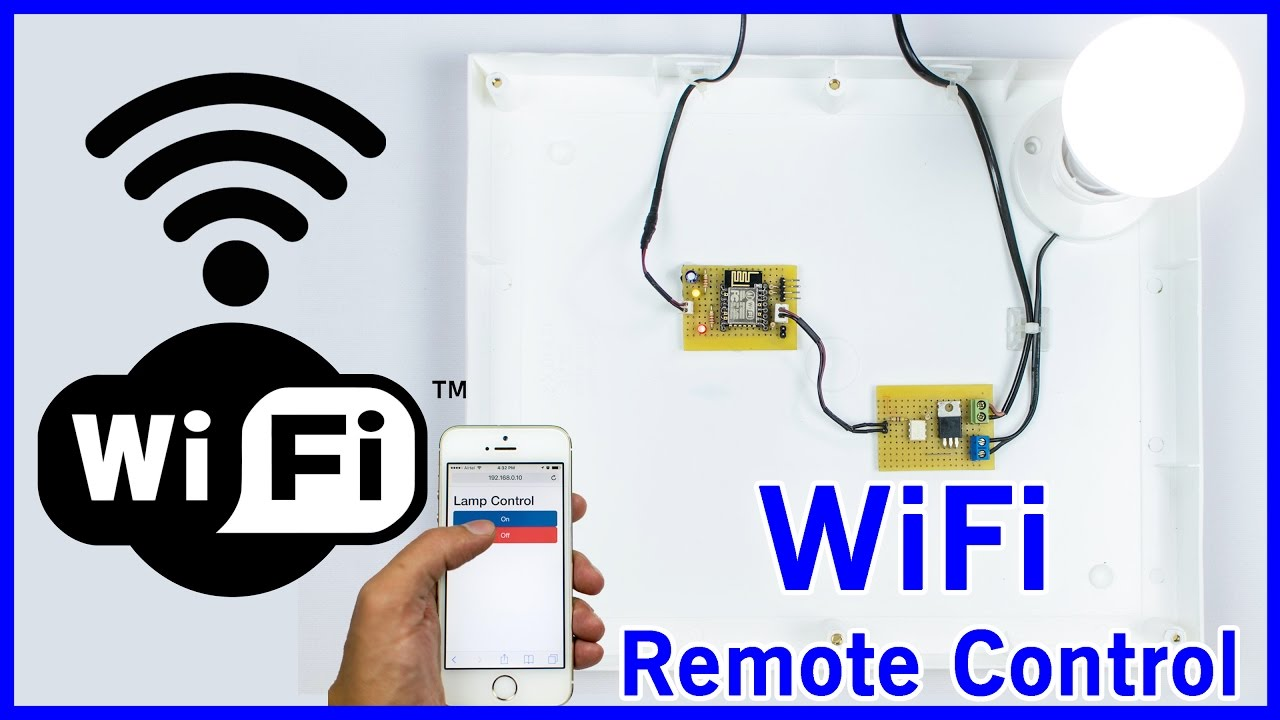 DIY ESP8266 Home Automation using WiFi