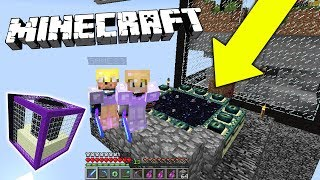 AM CREAT PORTALUL SPRE DRAGON!! CU PAIN - Minecraft LA PATRAT thumbnail