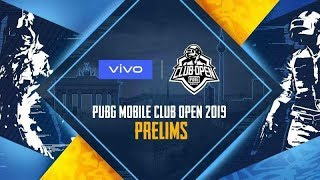 PUBG Mobile Club Open: Spring Split Global Finals Prelims Stage Day : 1