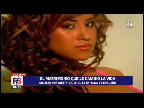 Rodrigo Cuba y Melissa Paredes: el matrimonio que les cambió la vida