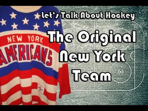 Let's Talk About Hockey (The Original New York Team)