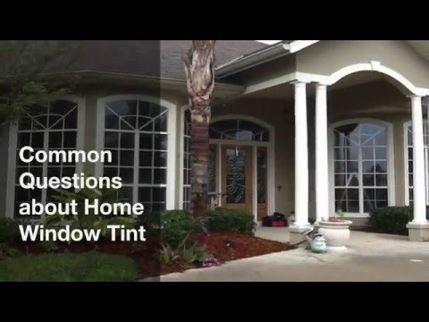 Common Questions about Home Window Tint