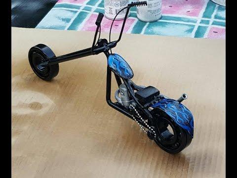 Scrap metal motorcycle, DIY