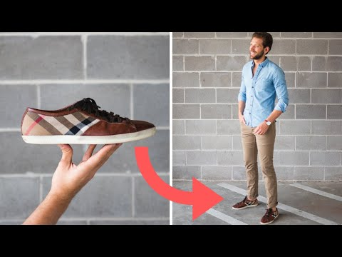 How To DRESS UP Your Sneakers!