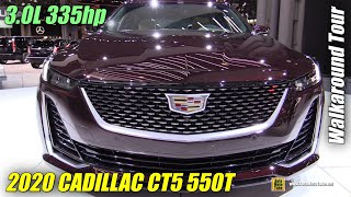2020 Cadillac CT5 550T - Exterior and Interior Walkaround - Debut at 2019 NY Auto Show