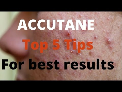 Accutane- 5 tips by Dermatologists