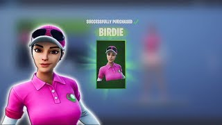 Spending 2,800 Fortnite V-Bucks Today Buying NEW 'BIRDIE' & 'DRIVER' & Gifting Fortnite items