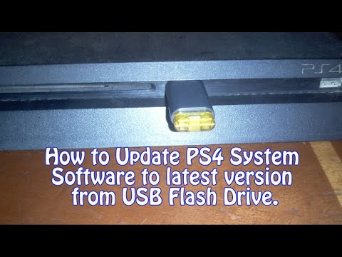 How To Update PS4 System Software From USB Flash-drive