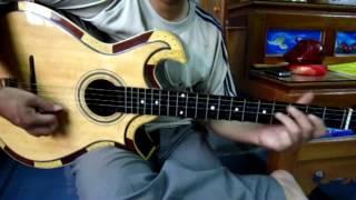 Tự học ghita nhạc lễ - Nam ai lớp mái - Tấn Thành Bàu Năng