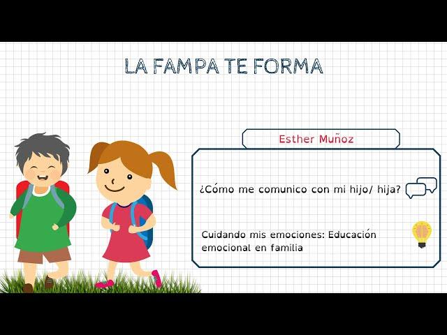 Formació FAMPA: Esther Muñoz (psicòloga)