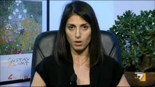 L'intervista a Virginia Raggi, candidata sindaco del M5S a Roma