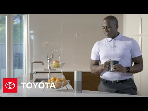 How To Connect Amazon Alexa To Toyota Remote Connect | Toyota