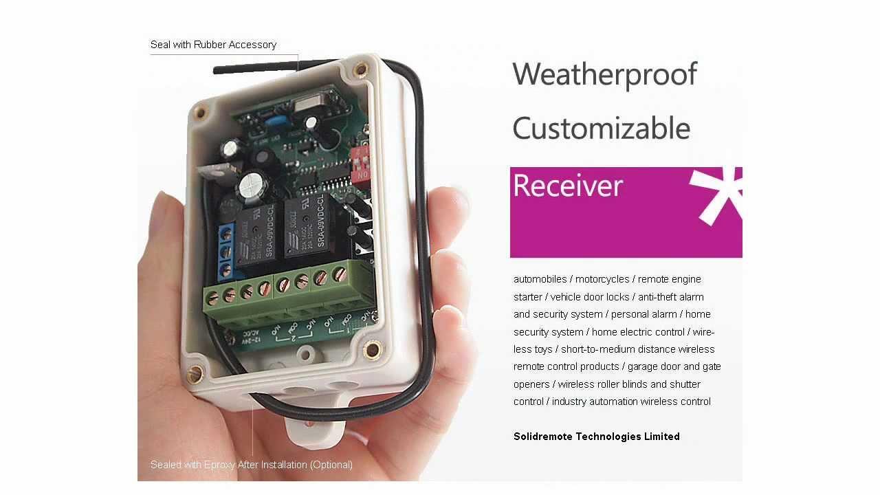 Rf Remote Control Relay Receiver 2