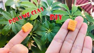 Cách làm Bánh Quy từ Đất Sét Nhật - Polymer Clay Food Tutorial