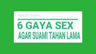 Posisi seks yang asyik dan boleh dicoba dengan pasangan