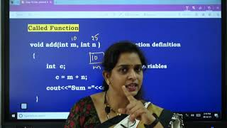 I PUC | Computer science | User defined functions-6