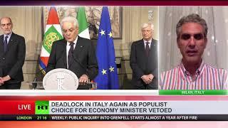 Italy fails to form govt over anti-EU economic minister
