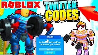 *NEW POWERS* + SECRET CODE | Ultimate Lifting Simulator Roblox!