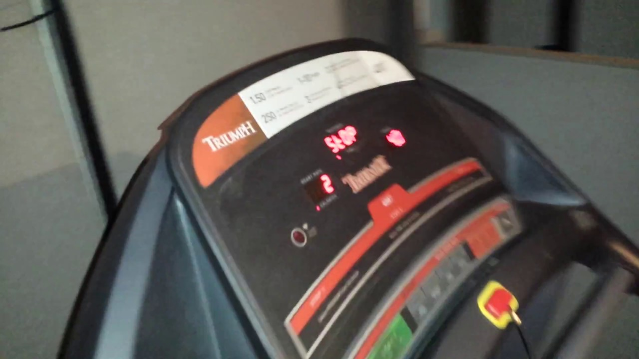 triumph 400t treadmill onecheapdad product review - youtube