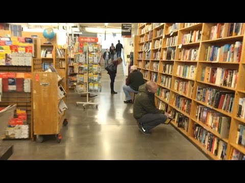 Playing with Hyperlapse at Powell's Bookstore
