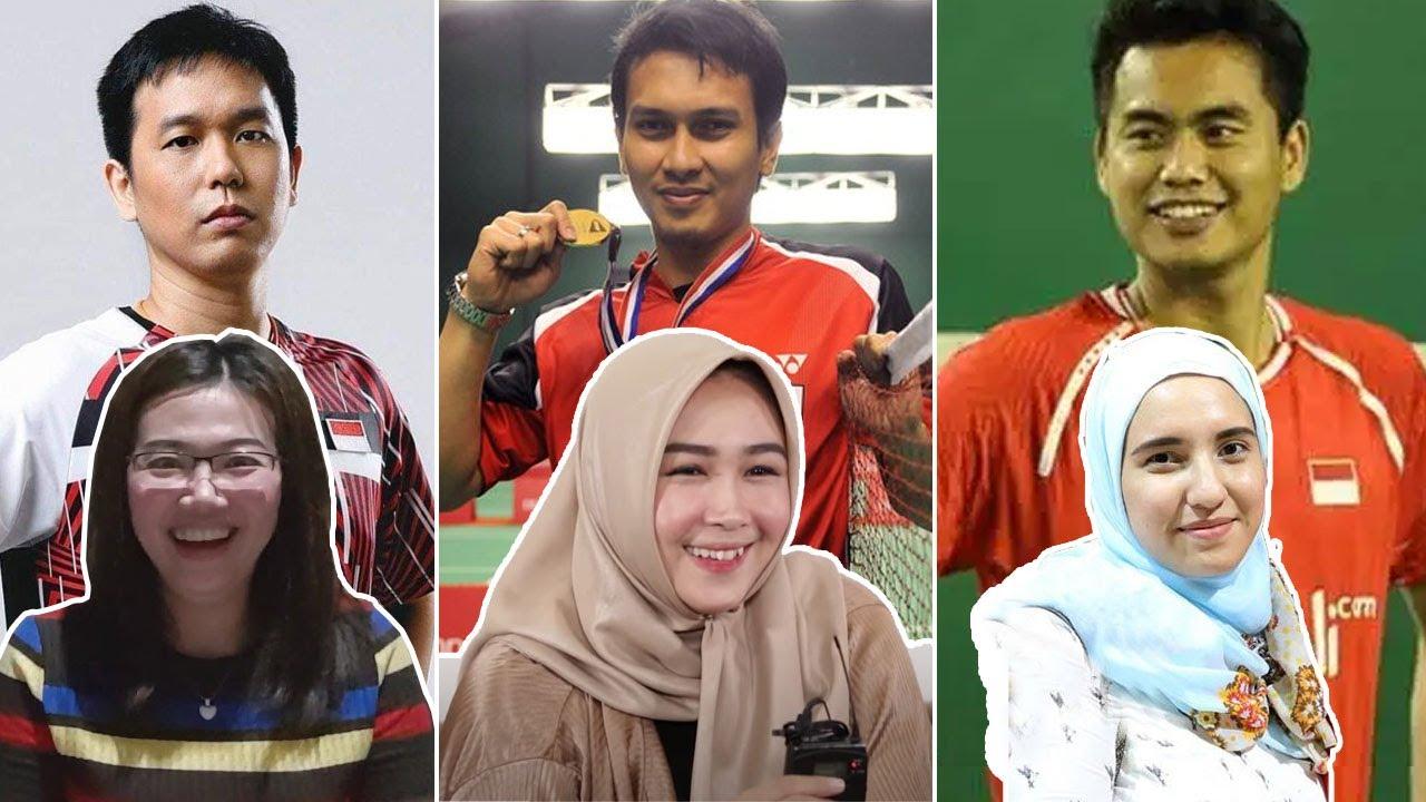 5 SOSOK ISTRI PARA ATLET BULUTANGKIS INDONESIA YANG JARANG ORANG TAHU | GOSIP ARTIS HARI INI