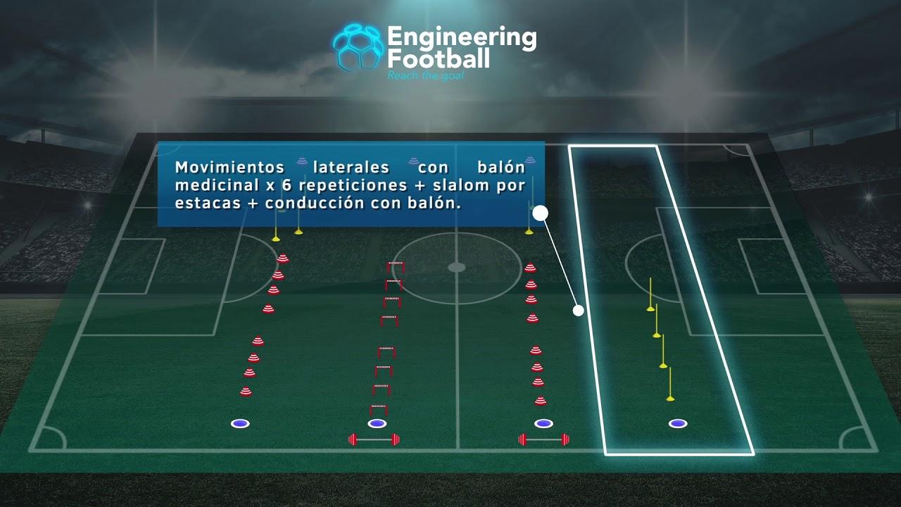Circuito Tecnico Futbol : Circuito físico técnico manchester city youtube
