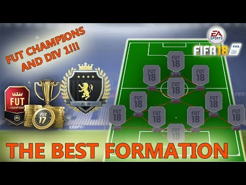 Best FUT CHAMPS FORMATION! (UNBEATABLE DEFENCE) FIFA 18 ULTIMATE TEAM