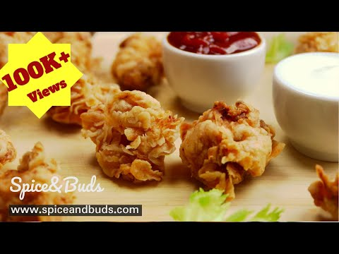 Popcorn Chicken Recipe KFC style in Tamil | SpiceandBuds